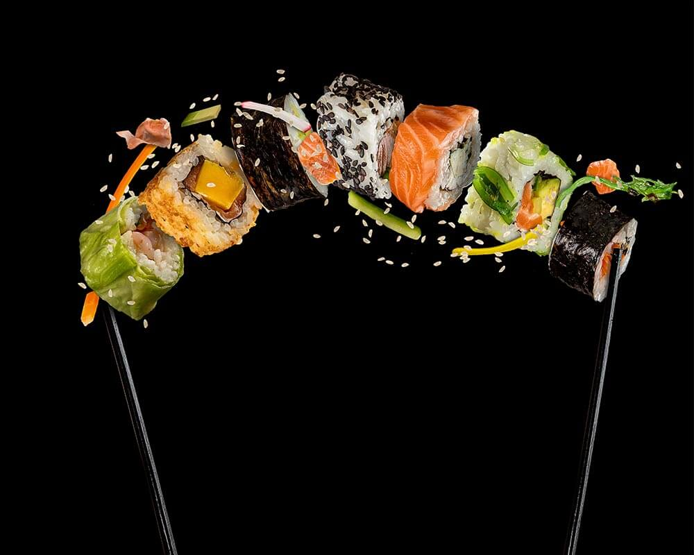 Sushi-on-a-stick